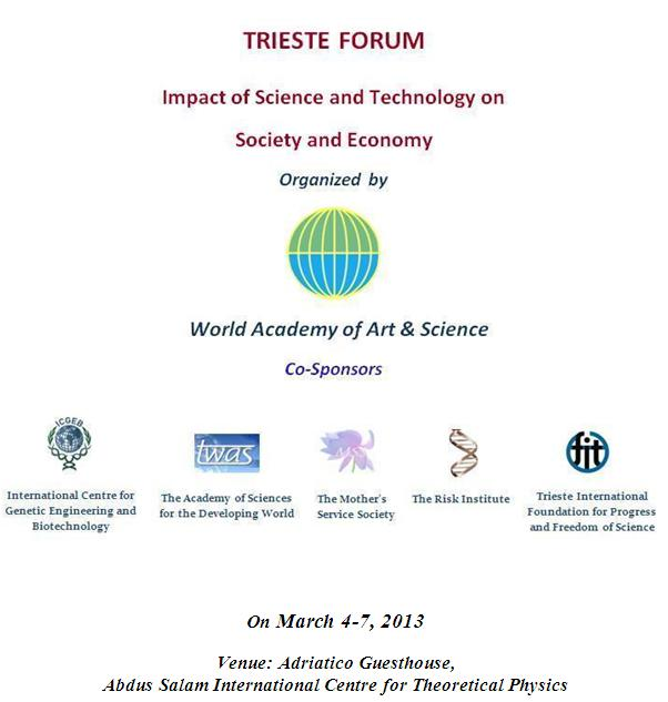 Impact Of Science  Technology On Society  Economy  World Academy  Forum Theme